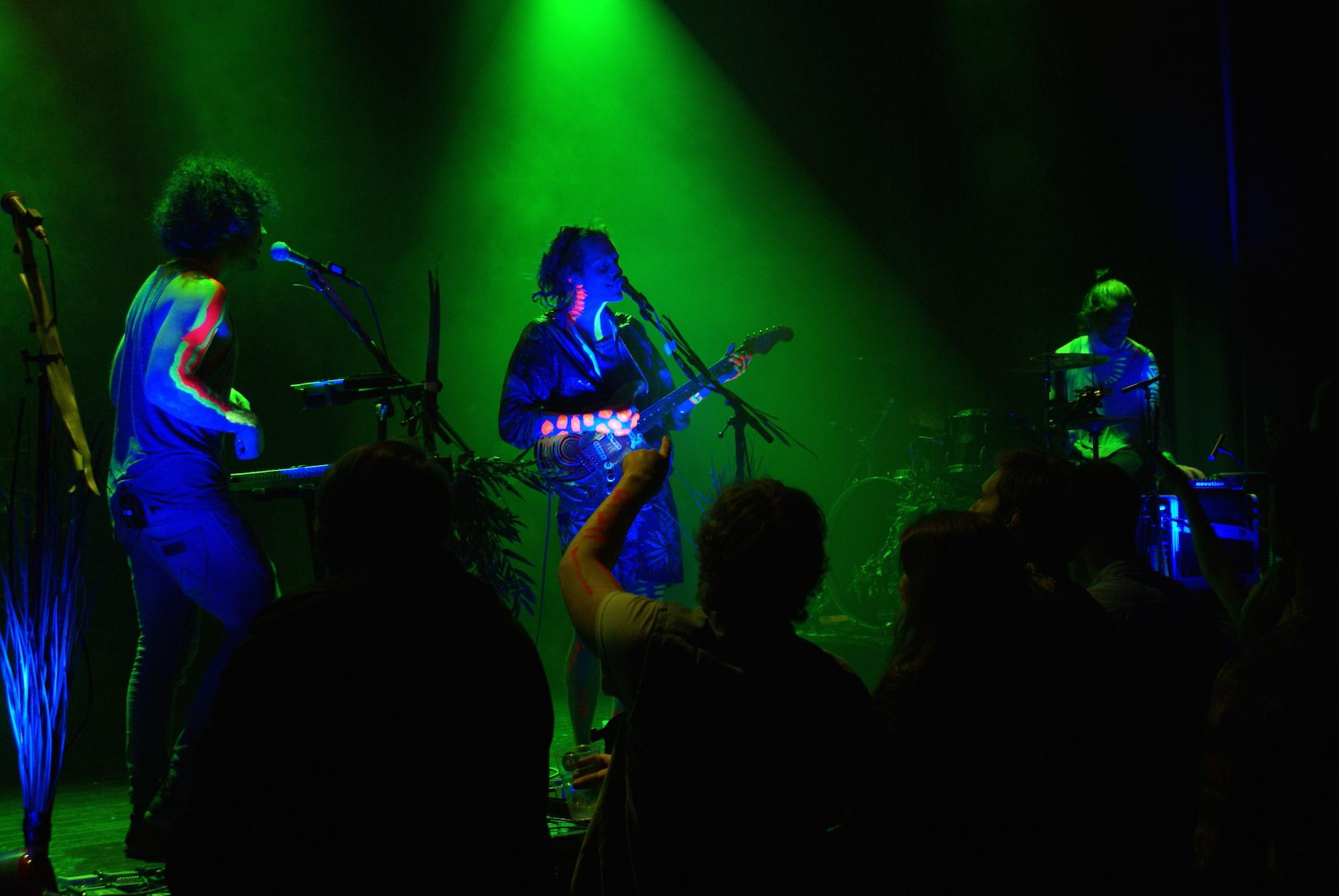 Disaster in the Universe-konsert på Bluebox