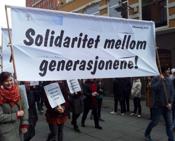 1. mai-tog, Solidaritet mellom generasjonene