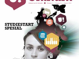 Forsida til Unikum august 2014