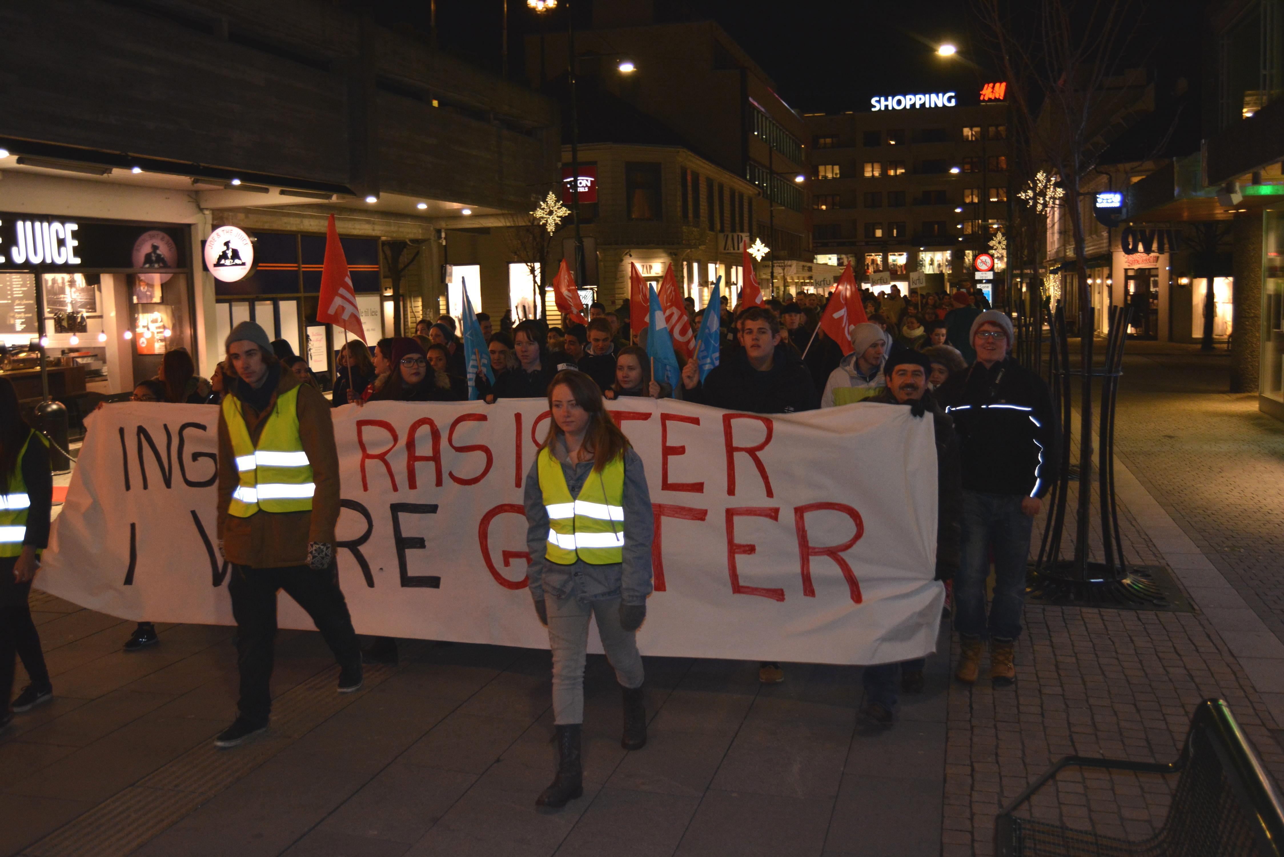 Folkelig modstand mod Pegida fortsætter i Kristiansand