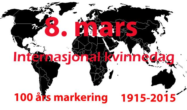 100 års internasjonal kvinnekamp markeres i dag i hele Norge