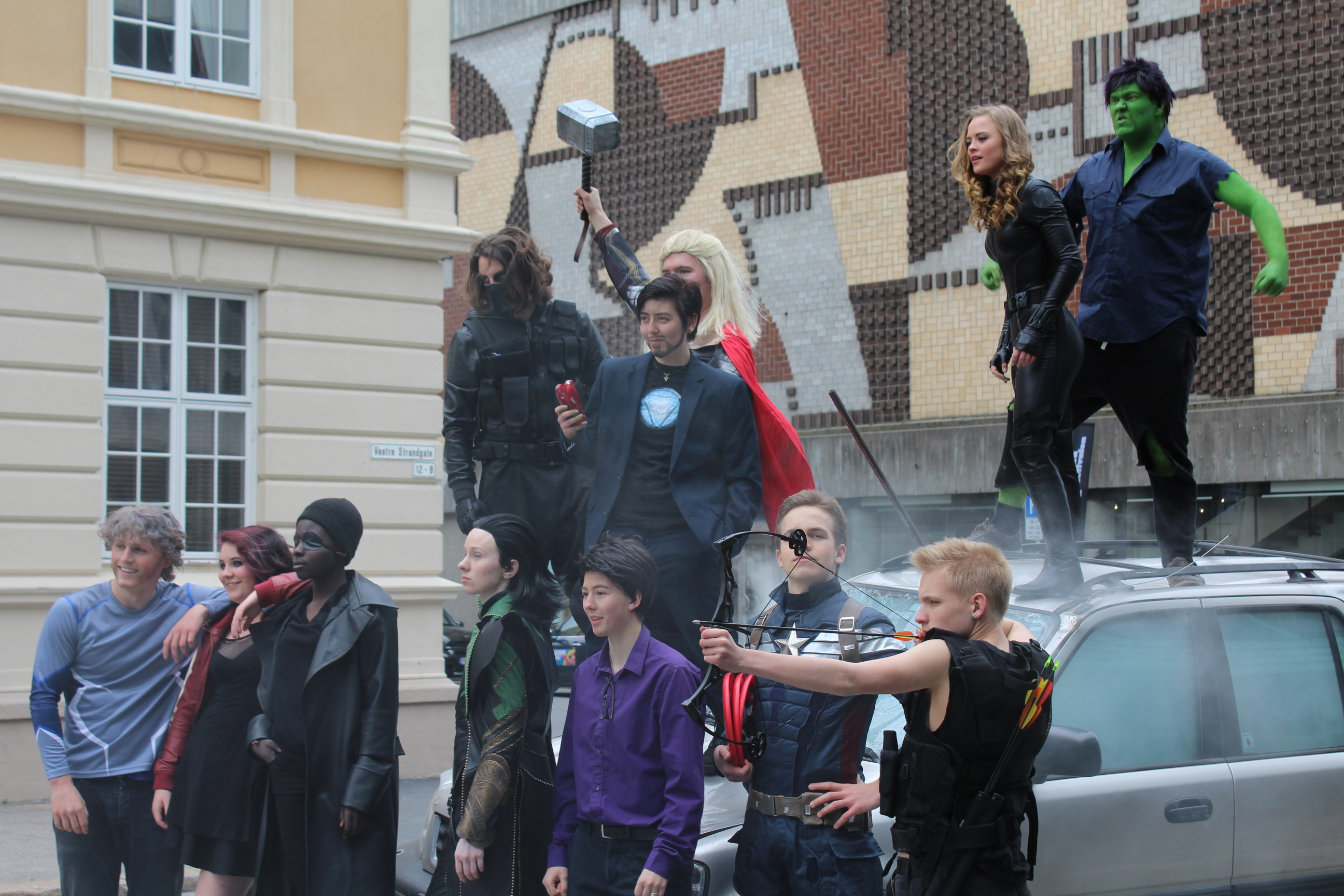 Fotos: Avengers-event til Barnefilmfestivalen