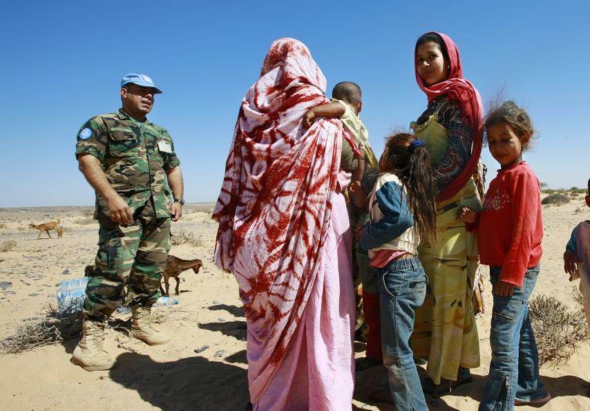 SAIH med kampanje for Vest-Sahara