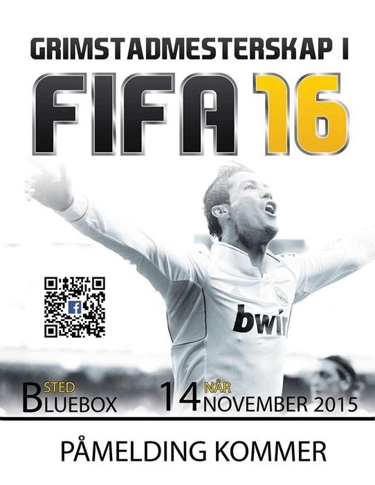 FIFA16-turnering på Bluebox
