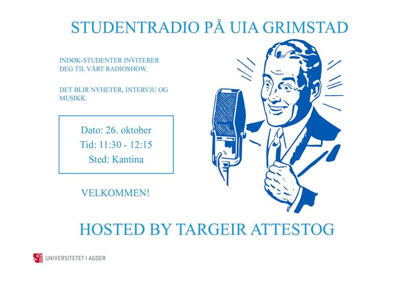 Poster,-Studentradio-på-UiA-Grimstad