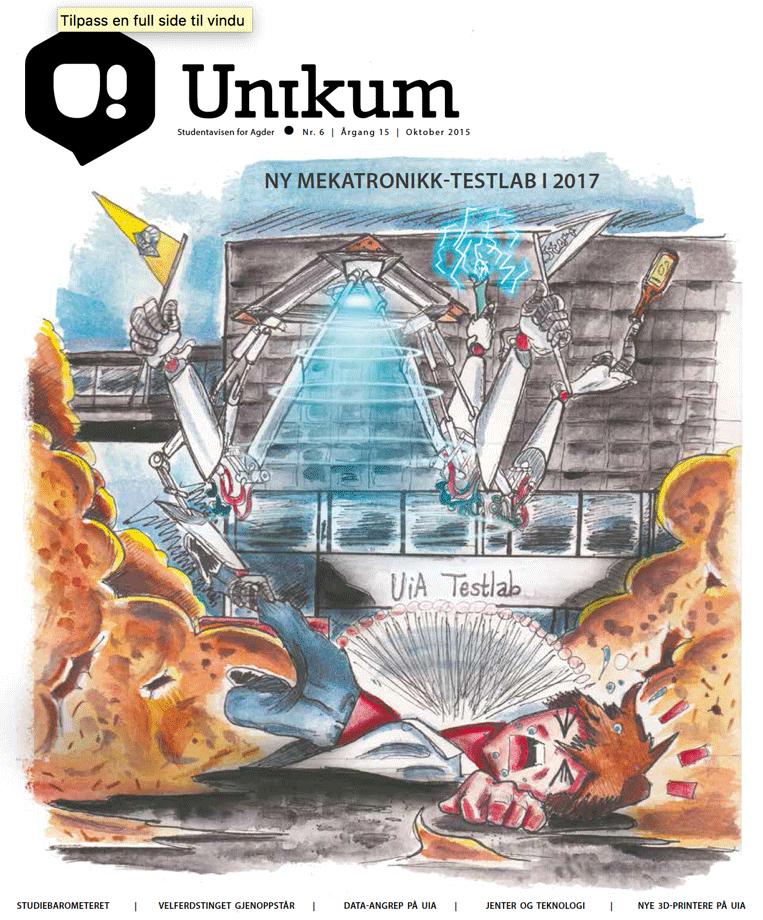 Oktober-utgaven av Unikum er her!