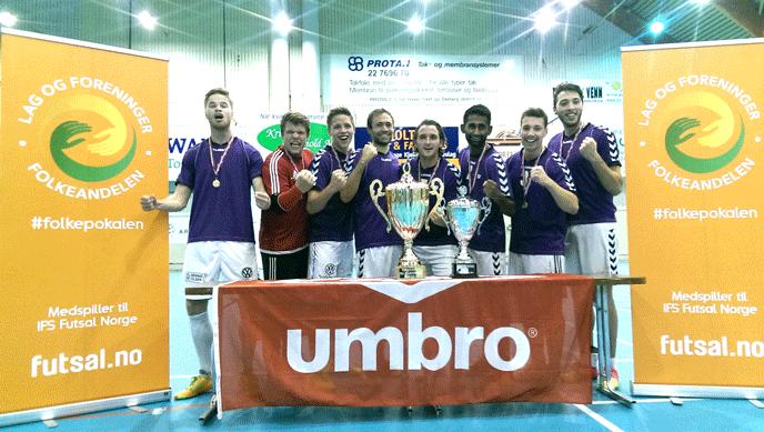KSI Futsal er norgesmester
