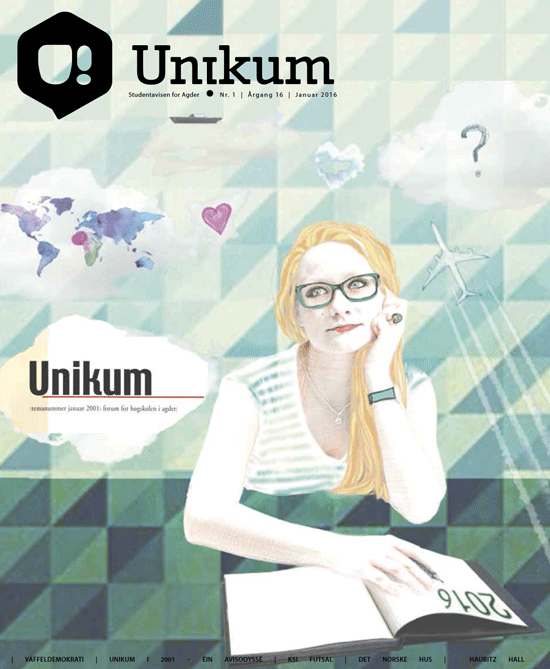 Ny og fersk utgave av Unikum er ute nå!