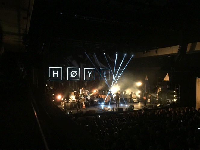 Konsertanmeldelse: Sivert Høyem