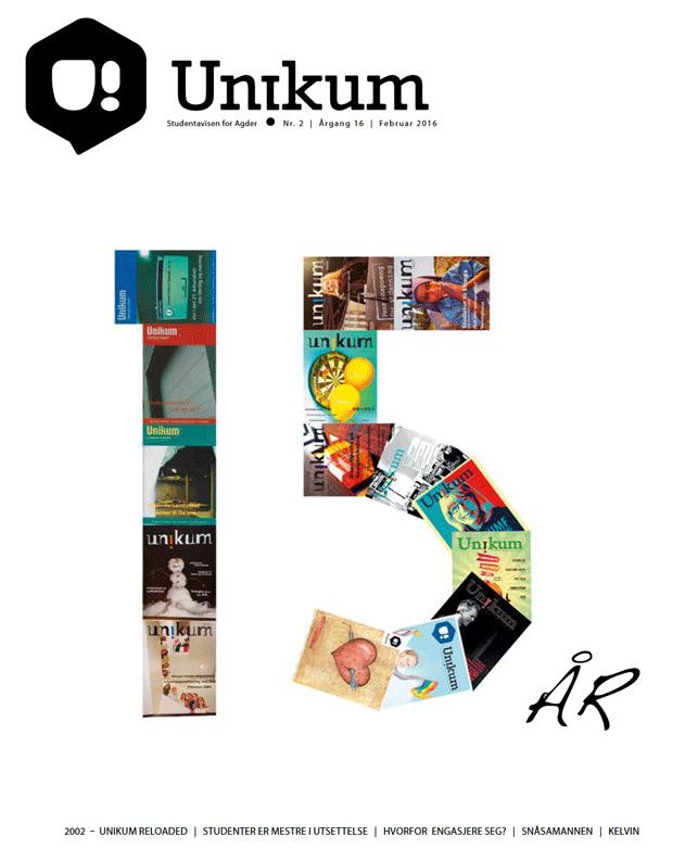 Februar-utgaven av Unikum!