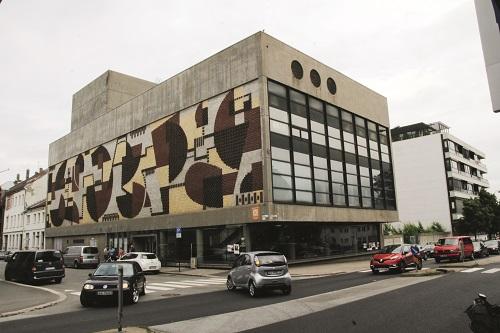Gamle Agder Teater i Kristiansand sentrum, framtidig student- og litteraturhus