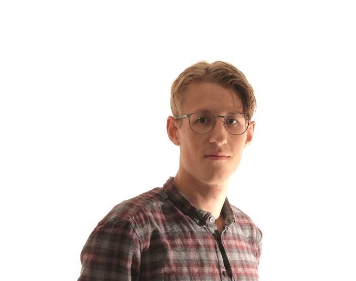 Matias Smørvik, sjefredaktør i Unikum