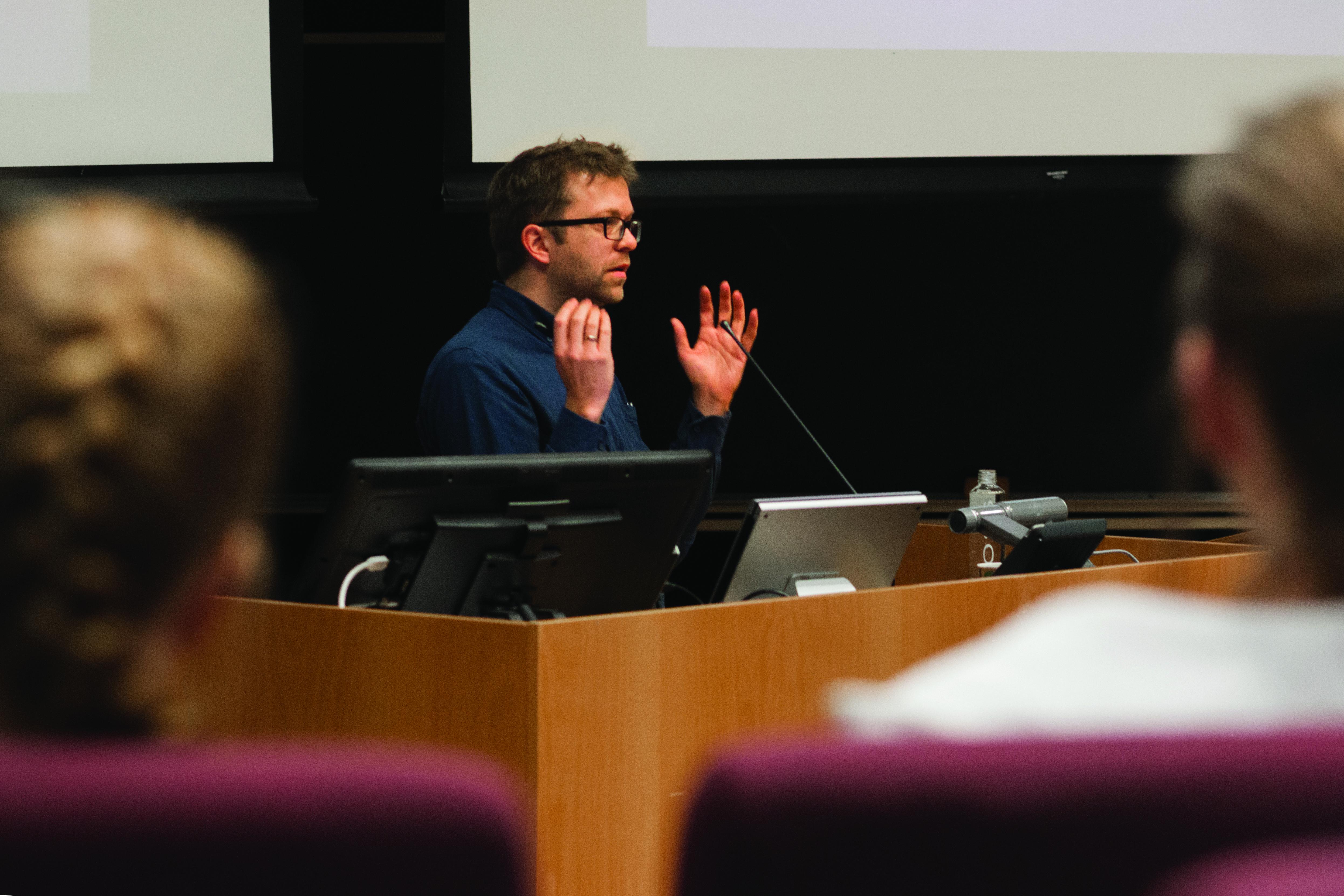 Fantastiske forelesere: Einar Duenger Bøhn
