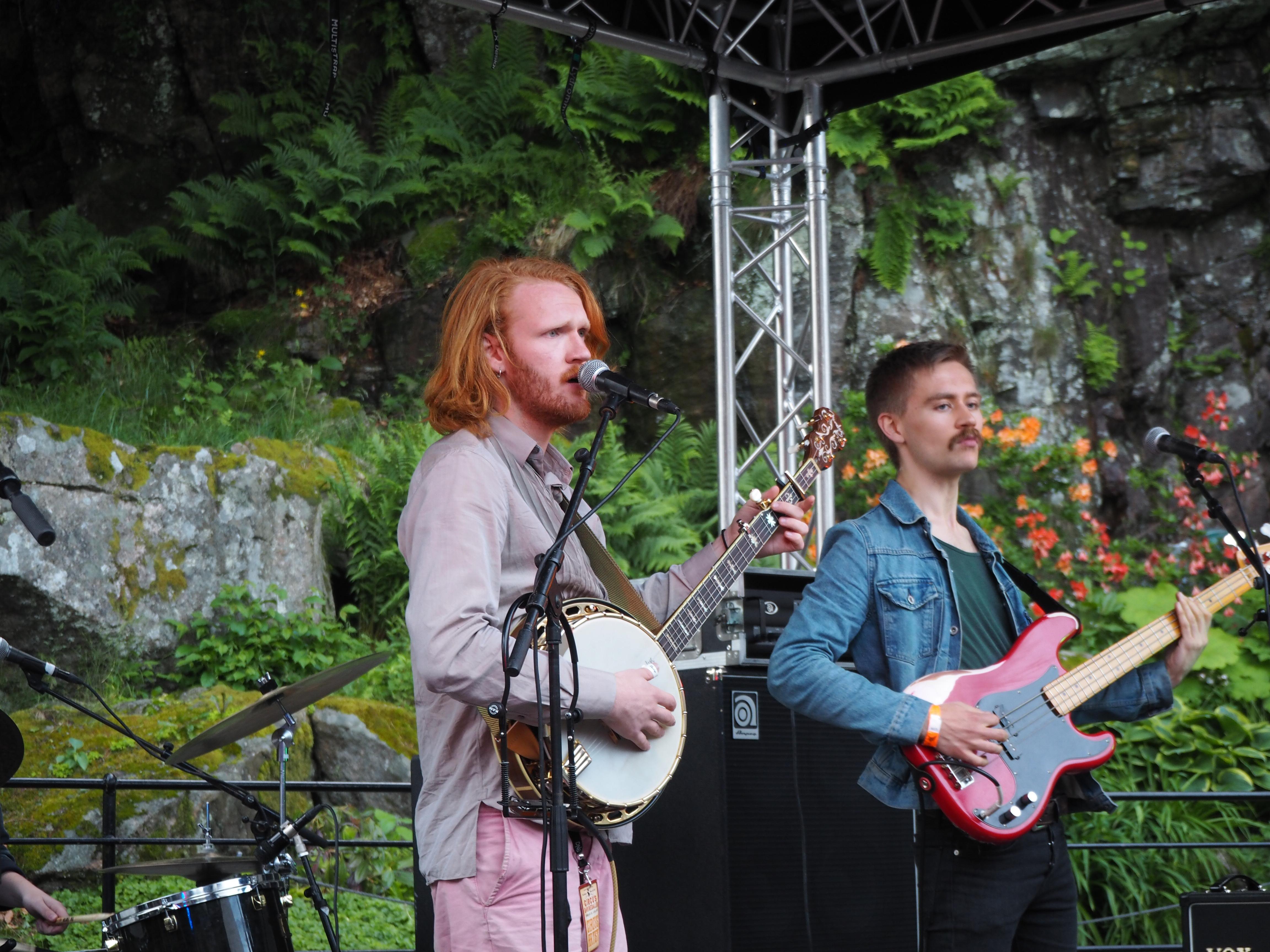 UiA-band på Circus Ravnedalen