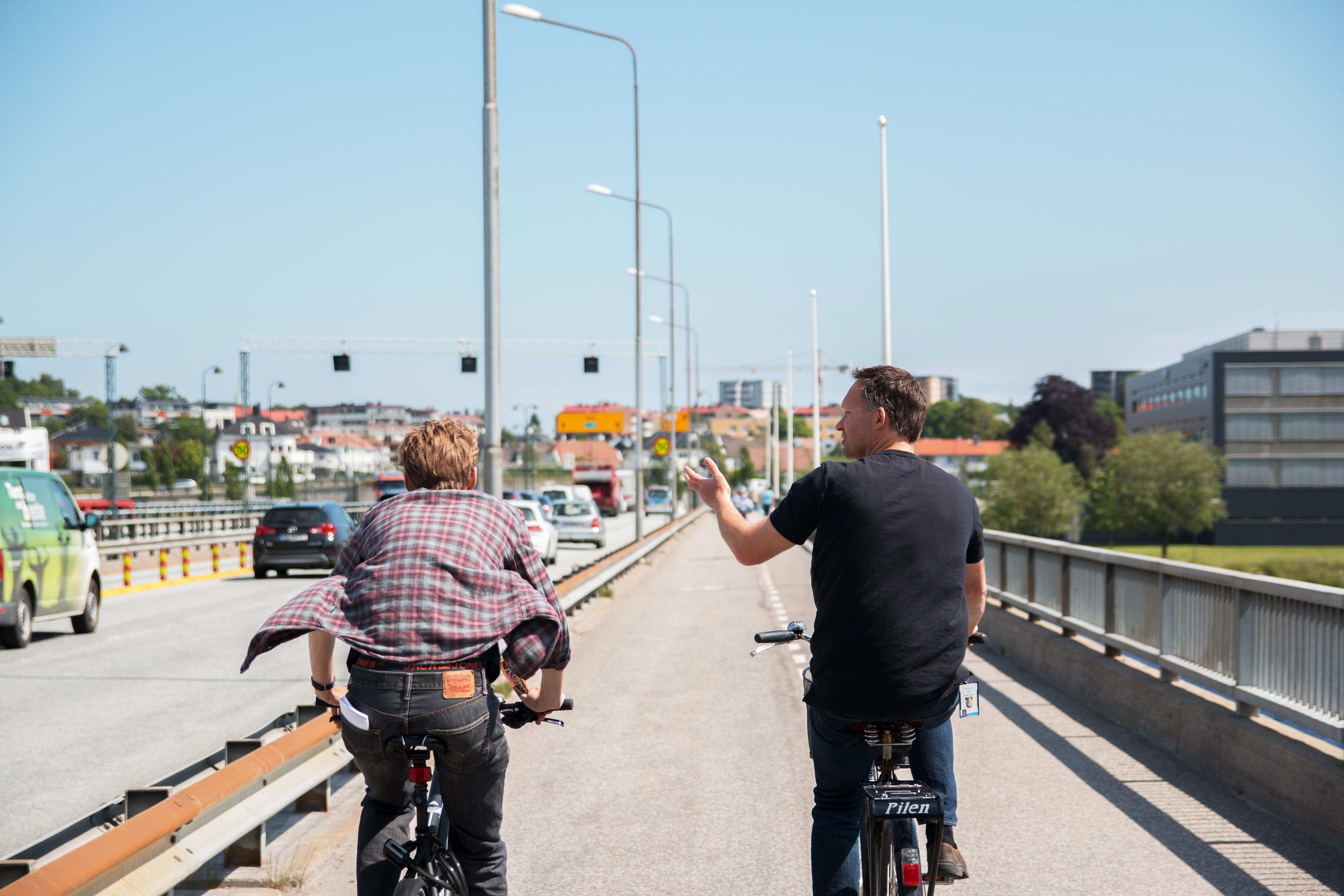 Den korteste veien er på to hjul