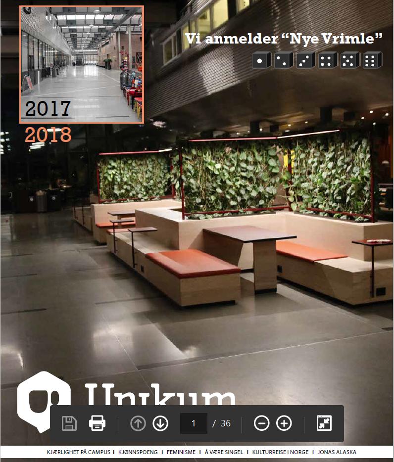 Årets første Unikum-utgave