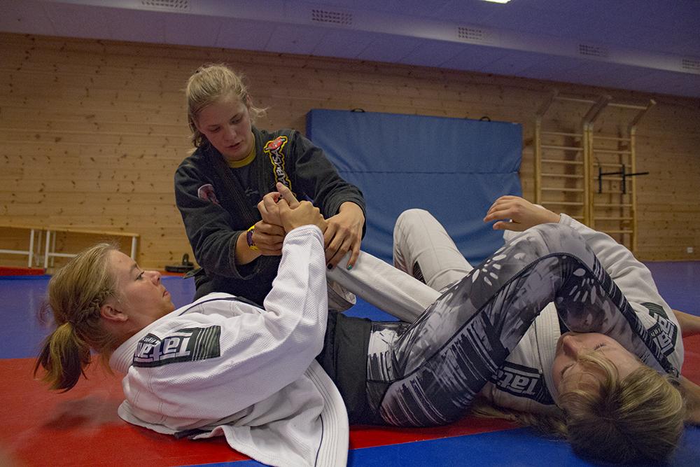 Unikum prøver: Brasiliansk jiu-jitsu