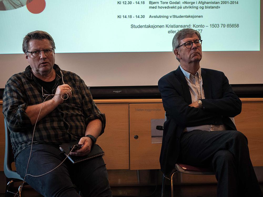 Arne Strand og Tore Godal