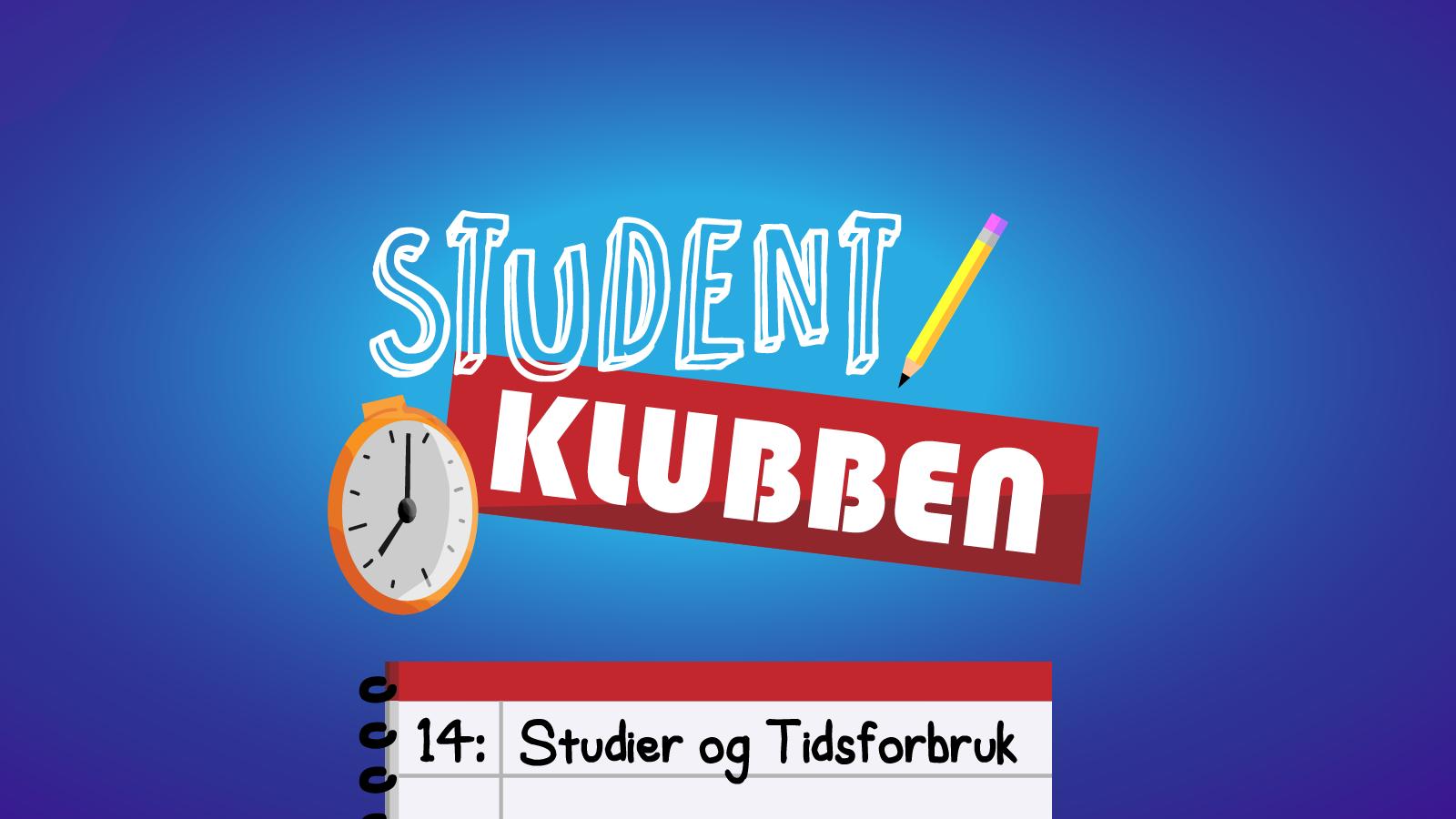 Studentklubben: Studier og tidsforbruk