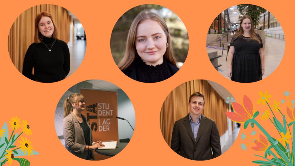 Profilbilder av studentene som sitter i STA 2020