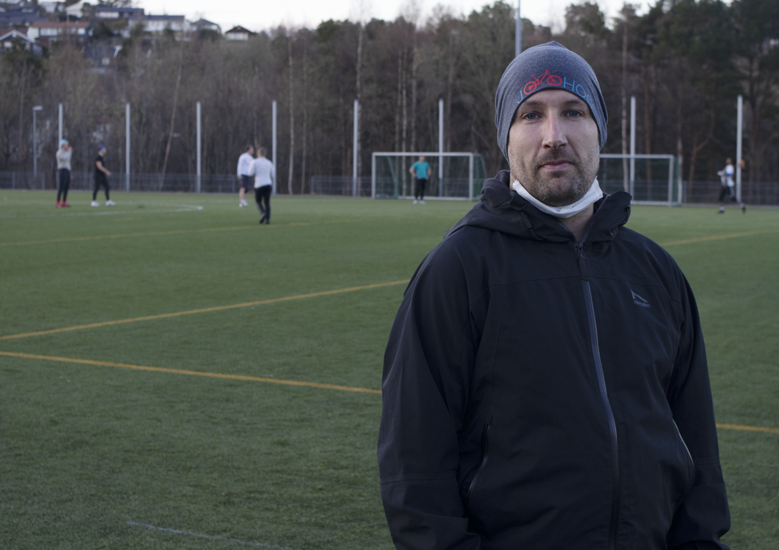 Amerikansk fotball: Gjøran Thomassen er sportslig leder i Kristiansand Gladiators. Foto: Anders Gerhardsen